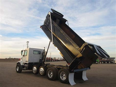 used volvo heavy duty trucks sale 2008 volvo vhd64b200 heavy duty dump truck for sale