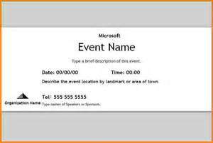 free template for event tickets doc 644415 word event ticket template event ticket