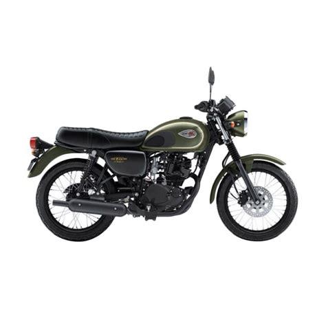 Tas Motor Kawasaki W175 jual kawasaki w175 se sepeda motor harga