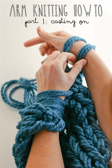 what is m in knitting arm knitting how to photo tutorial part 1 on