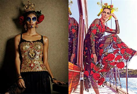 Editorial Dress Of The Month Dolce Gabbana dolce gabbana best fashion editorials of 2015
