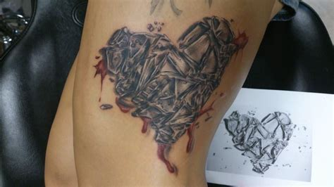 broken glass tattoo breaking glass pictures to pin on