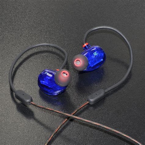 Knowledge Zenith Dual Dynamic Driver Earphones With Mic Kz Zn1 knowledge zenith hifi dual dynamic driver earphones with microphone kz zs2 blue