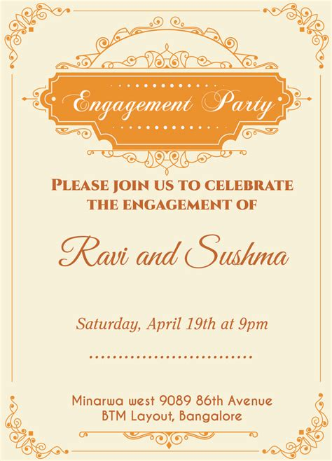 engagement invitation templates 13 best images about engagement invitation wordings on