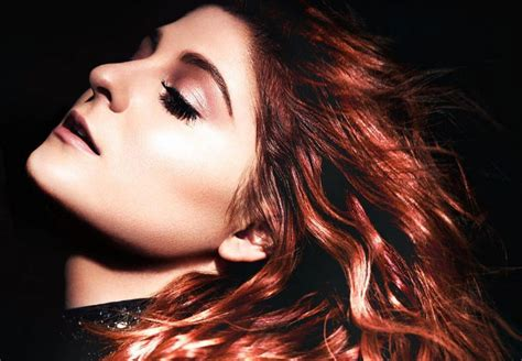meghan trainor 2016 new hair meghan trainor shows off red hair on new thank you album