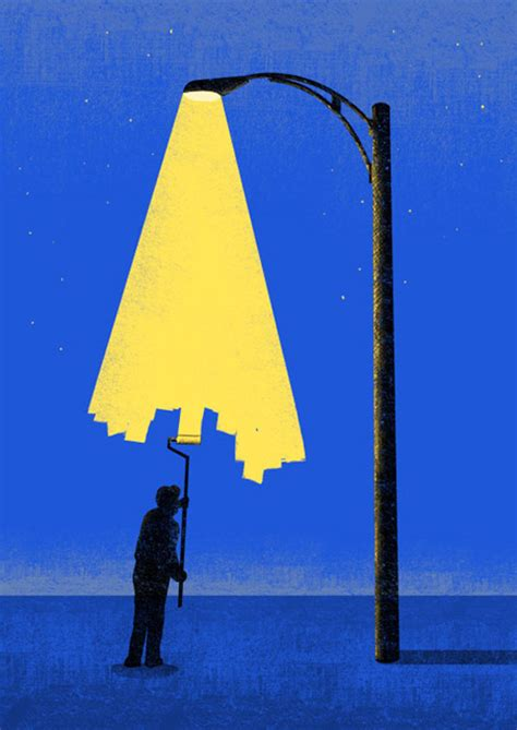 Positive Light by A Positive Light On Negative Space By Artist Tang Yau