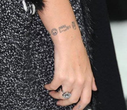 lily allen wrist tattoo 22 best images about homer on