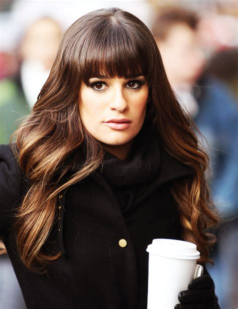 which hair colour does lea michele wear for loreal lea michele hair celebrity magazine