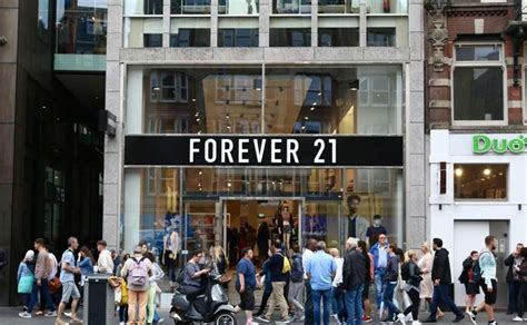 Retail Trends Forever 21 by Flagshipstore Forever 21 In Amsterdam Sluit