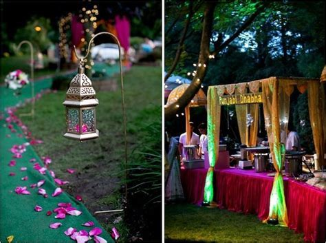 cute lamps & punjabi dhaba!   Wedding Decor   Indian