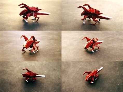 Starcraft Origami - origami zerglings by axcho on deviantart