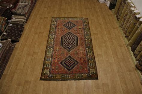rust colored area rugs rust color tribal antique 5x10 abadeh shiraz area rug carpet ebay