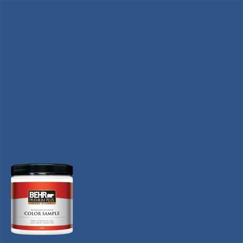 behr premium plus 8 oz 540d 7 blue sea interior exterior paint sle 540d 7pp the home