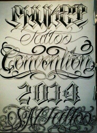tattoo fonts y chicano lettering lettering chicano