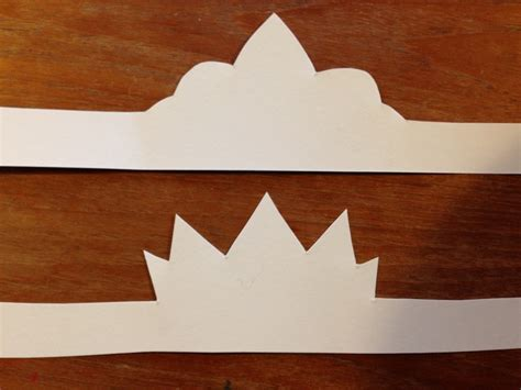 How To Make Paper Crowns - how to make princess crowns out of paper images