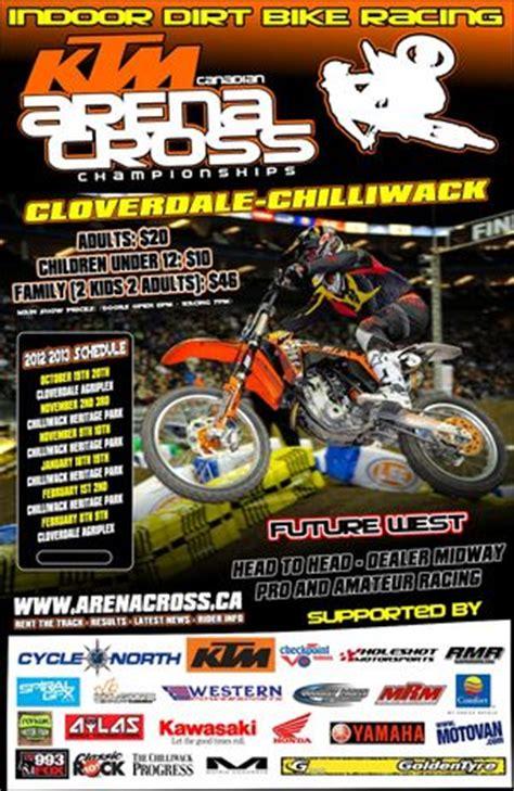 Ktm Sponsors Ktm Title Sponsors Canadian Arenacross Chionships