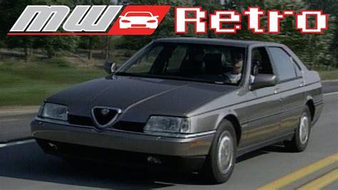 Alfa Romeo 164 Ls by 1994 Alfa Romeo 164 Ls Retro Review