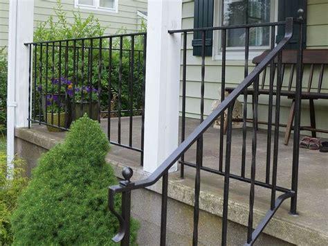 update  refinish  iron rails iron stair