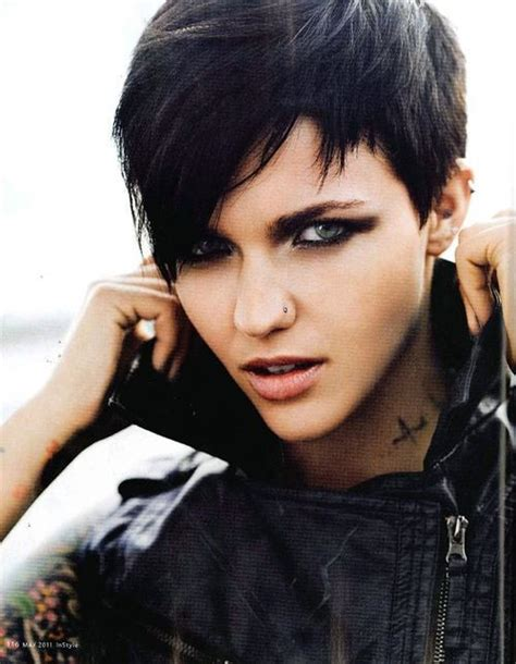 ruby rose hairstyles ruby rose ruby rose hair hawt hair pinterest
