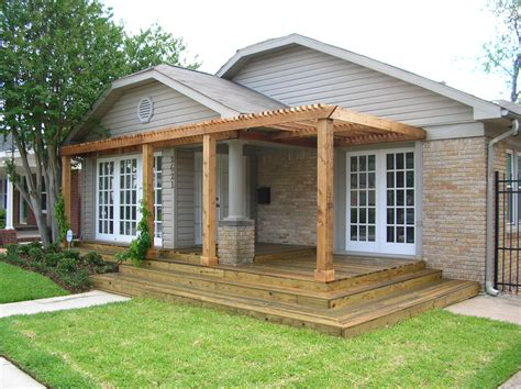 Decks With Pergolas Deck Designs Deck Designs With Pergola