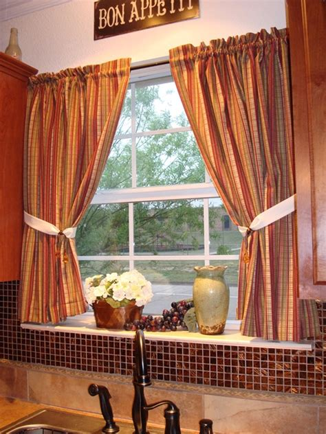 Tuscan Style Kitchen Curtains How To Choose Tuscan Curtains Interior Design