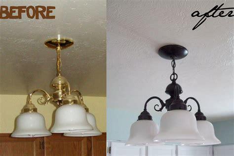 Painting Light Fixture Spray Paint Light Fixtures Light Fixtures Design Ideas