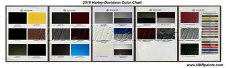 harley colors 2017 harley davidson color chart