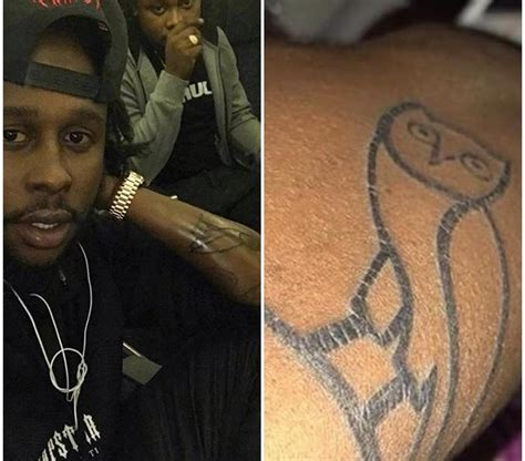 ovo tattoo ovounruly gets unruly and popcaan gets ovo