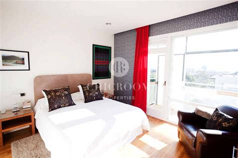 luxurious 5 bedroom apartment with pool for rent in pedralbes