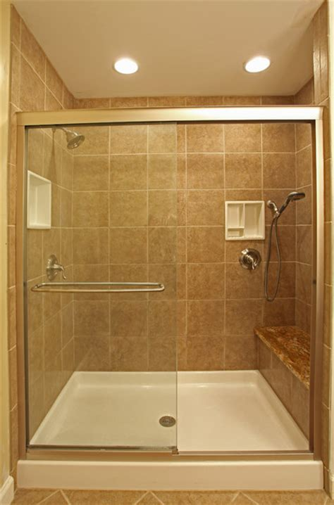 Smallest Bathroom With Shower Small Bathroom Ideas Traditional Bathroom Dc Metro By Bathroom Tile Shower Shelves