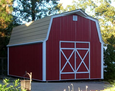 Barn Shed by Shedrow Gable Shed Gambrel Barn Barns Loafing Shed Run In Shelter