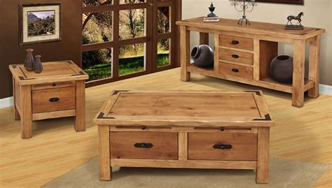 Rustic Coffee Table Sets Rustic Coffee Table Sets