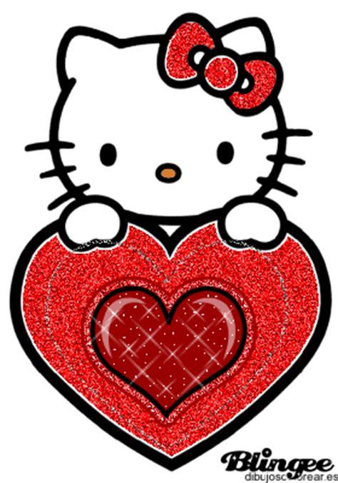 imagenes de love pero que brillen hello kiti picture 121930633 blingee com