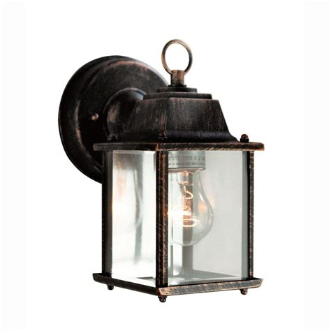 bel air lighting wall mount 1 light outdoor black gold