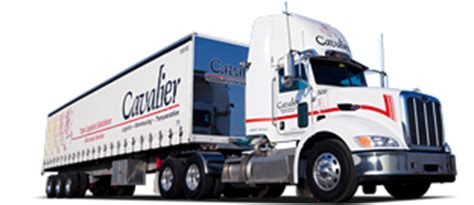cavalier ltl trucking company canada ontario ltl freight transport warehousing and logistics