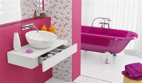 pink bathroom ideas for girls 2012 home interior design coloridos ba 241 os actuales paperblog