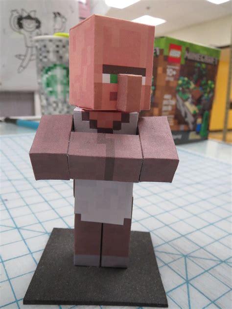 Minecraft Papercraft Villager - minecraft papercraft villager by hernandroid on deviantart