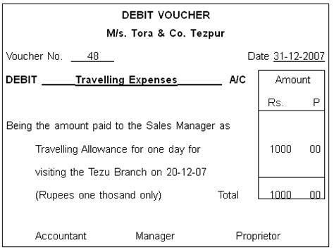 Debit Credit Voucher Format In Word Kkhsou