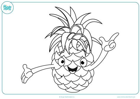 imagenes para colorear verduras y frutas dibujos de fruta para colorear mundo primaria