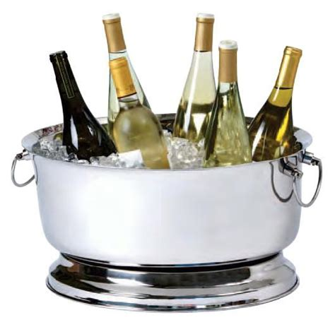 bathtub wine double wall oval party tub banquet size wine devices
