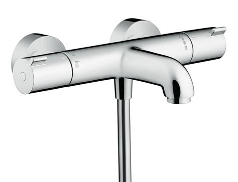 hansgrohe bath shower mixer hansgrohe ecostat 1001cl exposed thermostatic bath shower