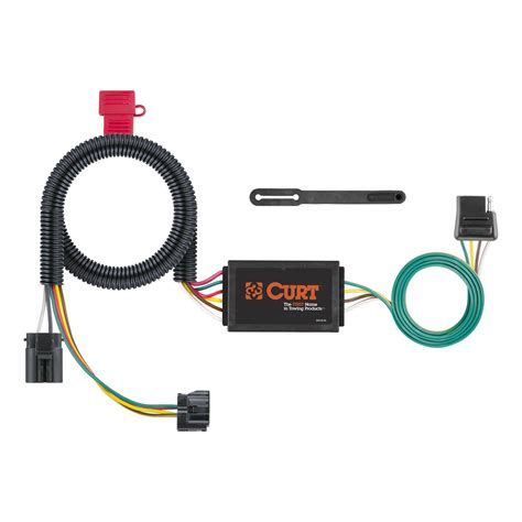 curt 4 way trailer hitch wiring light kit n play with
