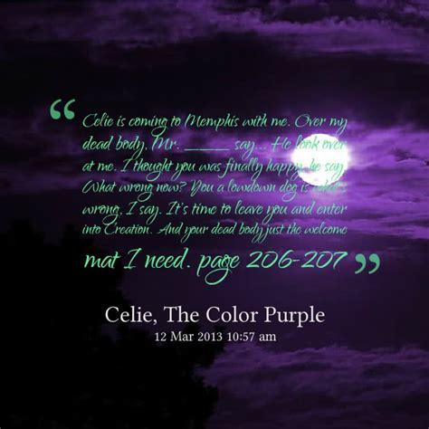 color purple quotes mailbox 9 best images about important quotations on