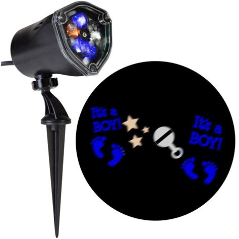 applights led projection snowflurry 49 programs stake light projection stake outdoor decoration