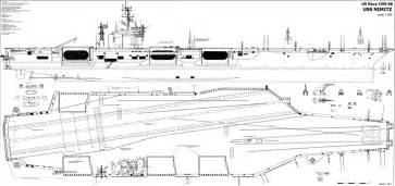 Floor Plan Scale 1 100 Gallery For Gt Nimitz Class Aircraft Carrier Top View