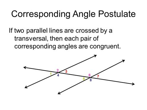 theme transversal definition angles and parallel lines ppt video online download