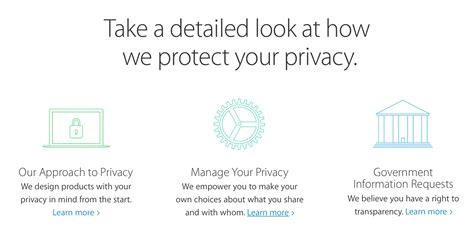 privacy policy the earth times apple and the world s most public privacy policy duetsblog