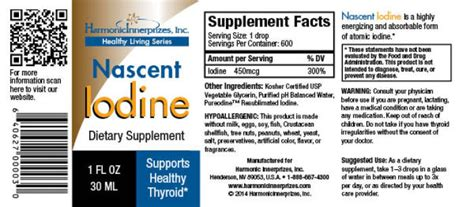 The Survival Shield Detox by Nascent Iodine Thyroid Support 1oz The Meta Center