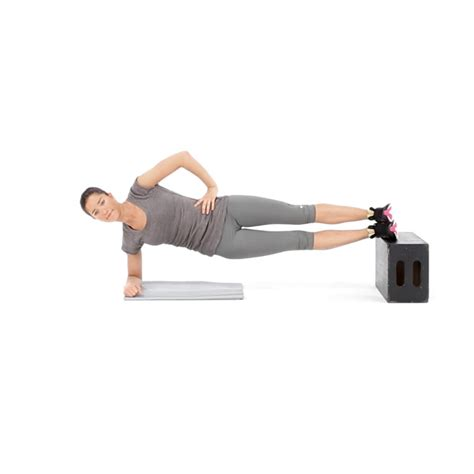 plank with feet on bench side plank with feet on bench video watch proper form