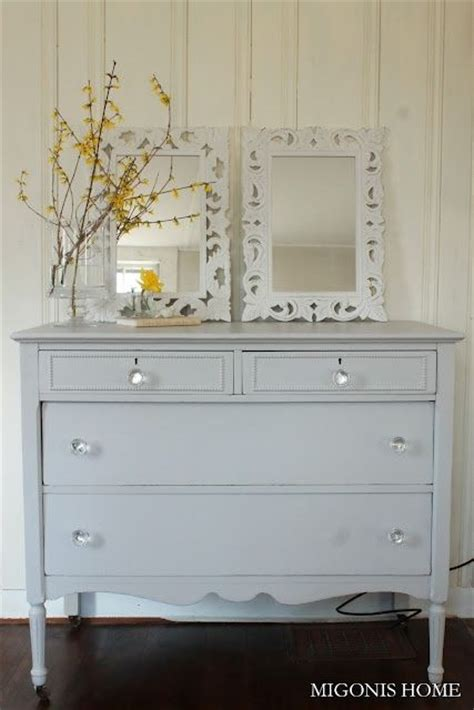 White Bureau Dresser by Dresser Bureau Refinished In Benjamin S Stonington